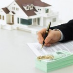 Подписание договора о недвижимости
