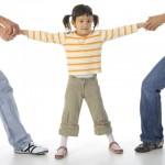 Ребенок между родителями