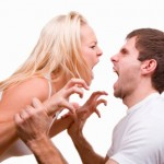 Пара ссорится