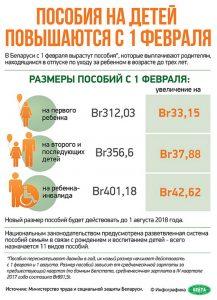 Кому положены детские пособия в Беларуси в 2019 году и какой их размер