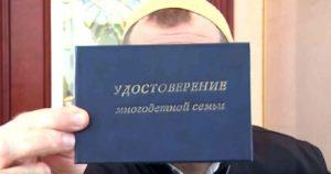 Какие налоговые льготы положены многодетным семьям в России